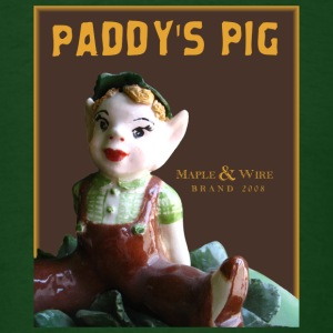 Paddys Pig Maple M1 - Men's T-Shirt