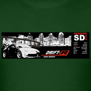 Forest green Drift-R SD bumper Men - Men's T-Shirt