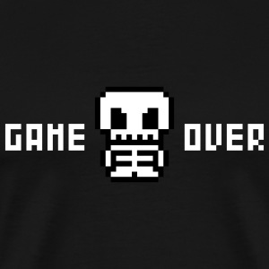 Black Game Over Men - Men's Premium T-Shirt