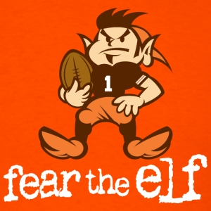 Fear The Elf Orange Tee - Men's T-Shirt