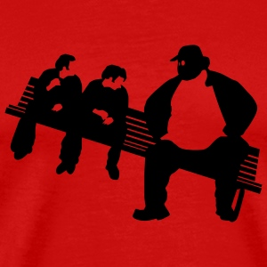 Red Fat Guy Men - Men's Premium T-Shirt