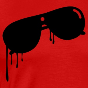 Red sunglasses Men - Men's Premium T-Shirt