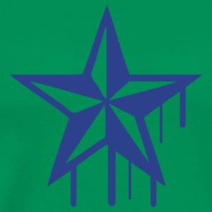 Bright green nautic_star Men - Men's Premium T-Shirt