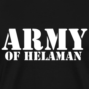 Black Army of Helaman Men - Men's Premium T-Shirt