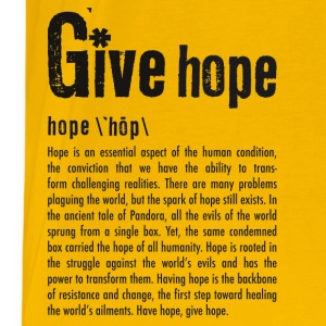 Give HOPE T-shirt - Men's Premium T-Shirt