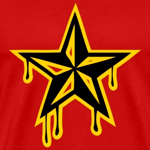 Red nautic_star2 Men - Men's Premium T-Shirt