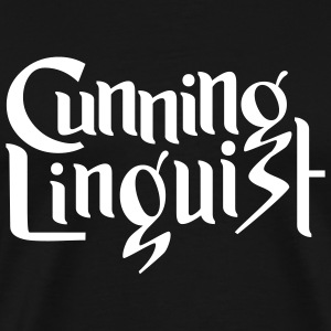 Cunning Linguist - Men's Premium T-Shirt