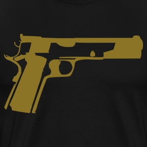 Black 1911 T-Shirts (Short sleeve) - Men's Premium T-Shirt