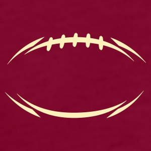 Burgundy american_football_modernstyle T-Shirts (Short sleeve) - Men's T-Shirt