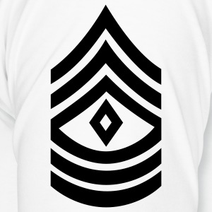 army rank first sergeant badge patch - Men's Premium T-Shirt