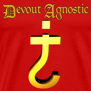Devout agnostic - Men's Premium T-Shirt