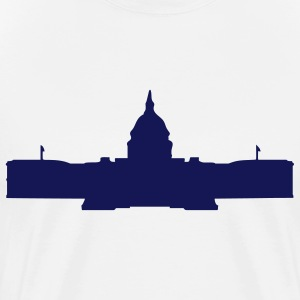 Natural Capital Capitol Building DC Men - Men's Premium T-Shirt