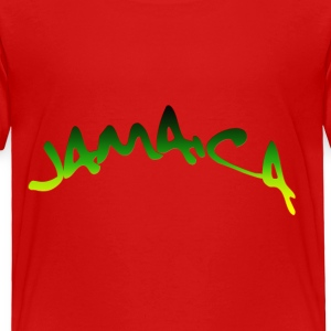Red jamaica Kids & Baby - Toddler Premium T-Shirt