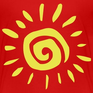 Red 0summersun1 Toddler Shirts - Toddler Premium T-Shirt