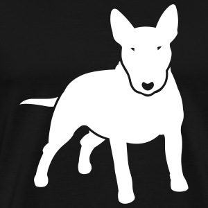 Black dogz_minibull_v2 T-Shirts (Short sleeve) - Men's Premium T-Shirt