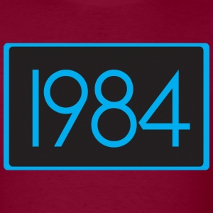 1984 Burgundy - Men's T-Shirt