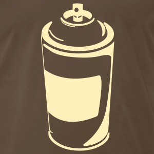 Chocolate urban_spraycan T-Shirts (Short sleeve) - Men's Premium T-Shirt