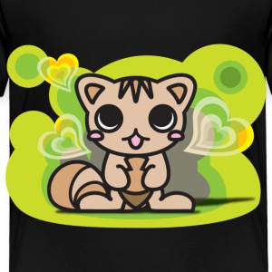 The stuffed toy of the squirrel - Toddler Premium T-Shirt