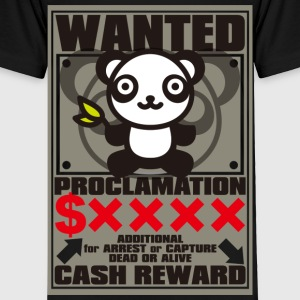 The stuffed toy of the panda - Toddler Premium T-Shirt