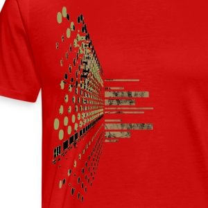 Red Soundscape System T-Shirts (Short sleeve) - Men's Premium T-Shirt