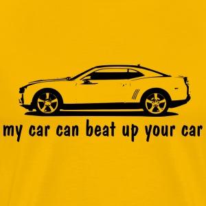 Yellow camaro T-Shirts (Short sleeve) - Men's Premium T-Shirt