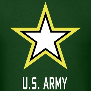 U.S. Army Star green shirt for man - Men's T-Shirt