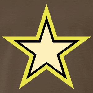 U.S. Army Star beown shirt for man - Men's Premium T-Shirt