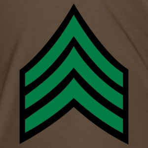 army rank sergeant badge patch - Men's Premium T-Shirt