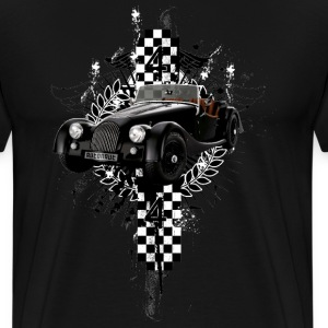 Black auto_distressed_morgan_44 T-Shirts (Short sleeve) - Men's Premium T-Shirt