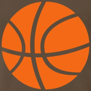 Chocolate basketball_ball T-Shirts (Short sleeve) - Men's Premium T-Shirt