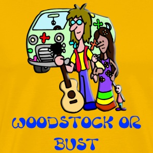 Woodstock Or Bust - Men's Premium T-Shirt