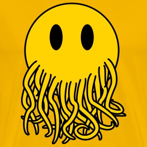 Smiley Cthulhu - Men's Premium T-Shirt