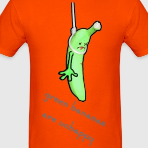 unhappy banana - Men's T-Shirt