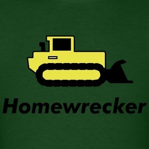 Forest green Bulldozer T-Shirts (Short sleeve) - Men's T-Shirt