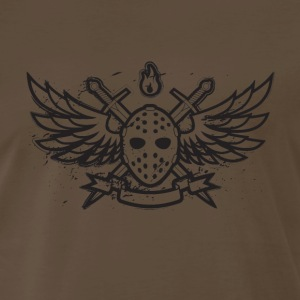 Death hockey chocolate - Men's Premium T-Shirt