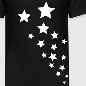 Black Stars Toddler Shirts - Toddler Premium T-Shirt