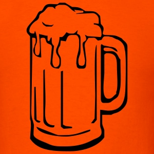 beer mug - Men's T-Shirt