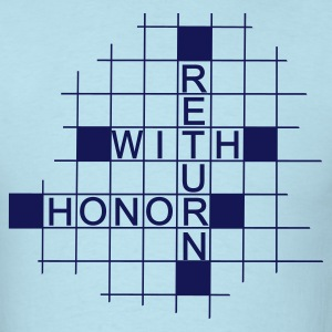 Return With Honor Pastel? - Men's T-Shirt