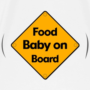 Food Baby on Board - Men's Premium T-Shirt
