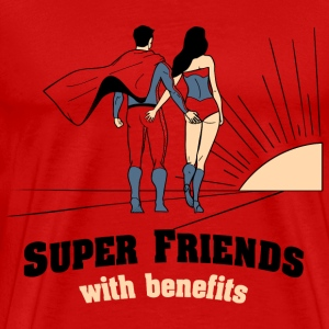 Superfriends with Benefits - Men's Premium T-Shirt