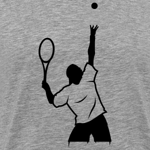 Ash  tennis_newstyle T-Shirts (Short sleeve) - Men's Premium T-Shirt