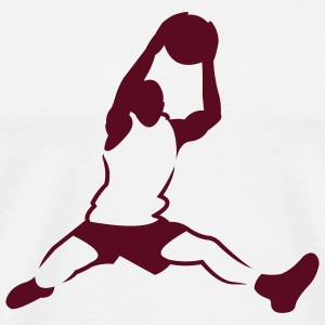 Natural basketballer_newstyle T-Shirts (Short sleeve) - Men's Premium T-Shirt