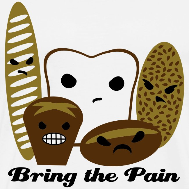Bring the Pain Men's Heavyweight Tee