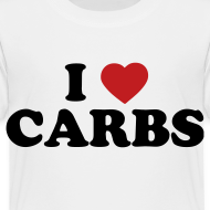 Design ~ Toddler I Love Carbs, White