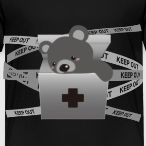 The stuffed toy of the bear - Toddler Premium T-Shirt