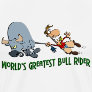 World's Greatest Bull Rider - Men's Premium T-Shirt