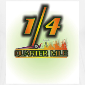 QUARTER MILE - Men's Premium T-Shirt