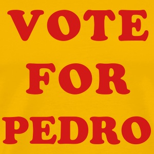 Yellow Vote for Pedro T-Shirts (Short sleeve) - Men's Premium T-Shirt