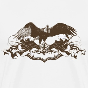 Eagle scroll - Men's Premium T-Shirt