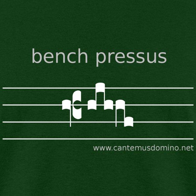 """""""Bench Pressus"""" (Dark) - Heavyweight Tee"""